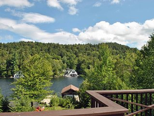 Waterfront Property on Lake Placid, Available all four seasons