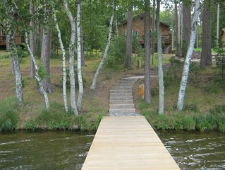 Beautiful Lakefront Home on Little St. Germain Lake