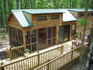 TO-Lofted cabin in woods-Cumberland Plateau Retreat (Three + nights $100 OFF)