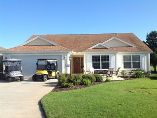 Golf Course Frontage,VIEWS, 2 Golf Carts, Bikes, More