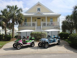 Available, Aug 17-24, Inquire for pricing, 4 & 6 seat golf carts