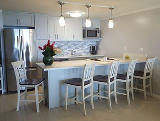 Updated Oceanfront Condo! Long clean beaches to walk & swim! Escape the Crowds!