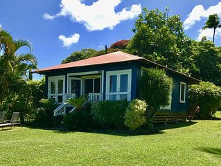 Ocean Views! Elegant 1900's Plantation House Near Hamoa Beach