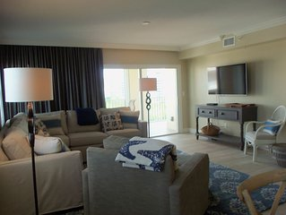 6th Floor 3 Bedroom 2 Bath Luxury Condo Direct Gulf & Bay Water! Steps To Beach