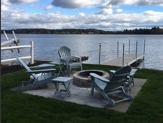 Beautiful lakefront home , perfectly located mins. to skiing, shopping, & dining