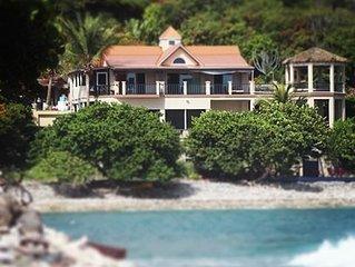 Beachfront Suite at Quiet Friis Bay