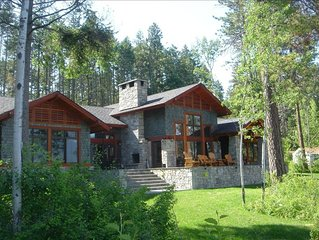 The Most Beautiful House on Flathead Lake - NW Travel Magazine 'Best Waterfront'