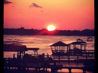 Unbelievable Sunsets On Back Bay