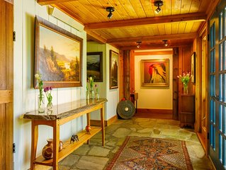 Jackson Hole: Private Retreat On Historic Ranch, Fish Creek Access, 7 Acres