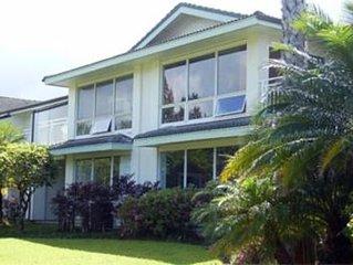 Kauai Princeville - Spacious Beautiful Corner Unit - Golf