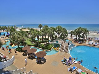 Beautiful, Ocean Front 2 Bedroom, on the 6th Floor at Wyndham Ocean Walk Resort!
