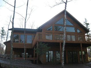 Newer!!!  Upscale Lake Home on Beautiful 1340 Acre Squirrel Lake