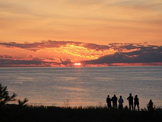 Beautiful Four Bedroom Homestead Condo on Stunning Sleeping Bear Bay, Lake MI