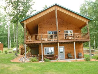 Year round, beautiful cabin on quiet, clear lake.