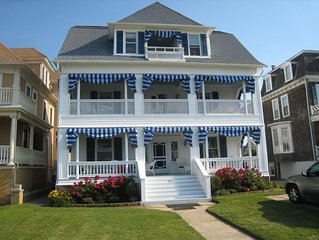 Beach Front Home with Wide Double Porches - Easy Walk to Town