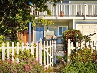 Perfect Beach House!  Ocean view, steps to beach - great backyard!