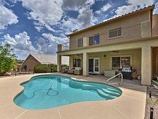 2BR Fountain Hills w/Pool & Desert Garden