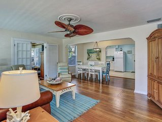 Comfortable Family Home with easy one minute walk to #1 beach in the U.S.!