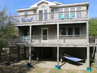 Oceanside beach house with private pool & hot tub, Duck, NC