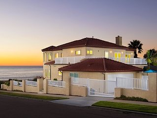 OCEANFRONT LUXURY Vacation Home on Famed Sunset Cliffs