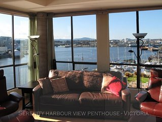 Harbourside Penthouse—Spectacular Views!—Rooftop Deck, Downtown near everything!