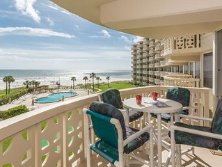 PRIME SPOT!!  Exquisite Oceanfront! Amazing View & Steps from Flagler! BOOK NOW!