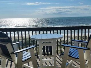 Luxury Oceanfront Top Floor Condo with Elevator and Pool! *Steps from the Beach!