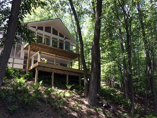 Newly renovated lake house, fenced in home on Duck Lake, pontoon, pet friendly