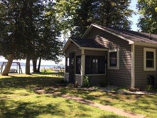 Platte Lake Waterfront Cottage!