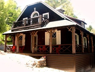 Classic Great Camp Carriage House