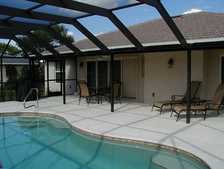 Private pool, quiet location,  close to everything!