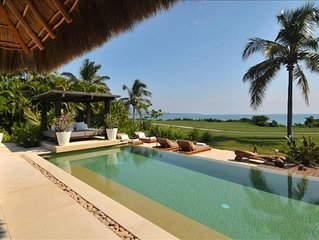 SPECTACULAR 5* Luxury OCEANFRONT Villa,7* staff, 6 Bed 7b at 4 Seasons
