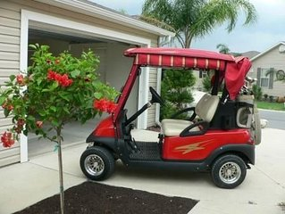 Village of Duval Courtyard Villa with Golf Cart!