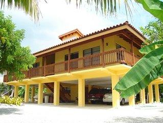 Villa Casa Cayo.....Ocean Side Canal Sombrero Beach Area
