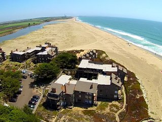 Pajaro Dunes Resort: Pelican Point Beach Condo - Beach, Ocean & River Views