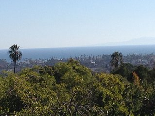 Gorgeous Spanish Colonial with Ocean View; Sunny and Spacious