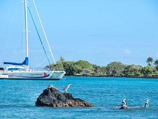 Luxury 2BR/2BA Waikoloa Beach Villa K22 with Outdoor Grill near Beach & Shops