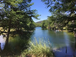 Over 300 acres and a private lake