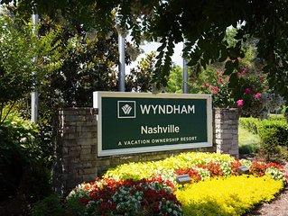 Luxury 2 Bedroom Wyndham Nashville Condo