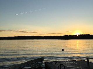Beautiful Sunsets on Damariscotta Lake