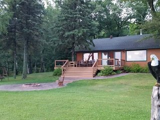 Gorgeous 4 bedroom Lake Home in Northwest Wisconsin on Lac Courte Oreilles!