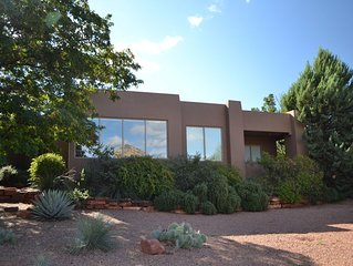 Magnificent Sedona home with Red Rock Views - Summer 20% Discount!