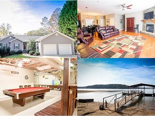 6/4 Beautiful New Lakehouse With Private Dock