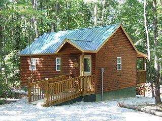 AB-One bedrm,W/single loft-Cumberland Plateau Retreat (Three + nights $100 OFF).