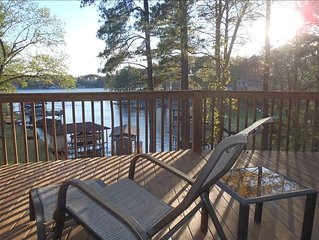 Beautiful home with scenic views of Lake Gaston