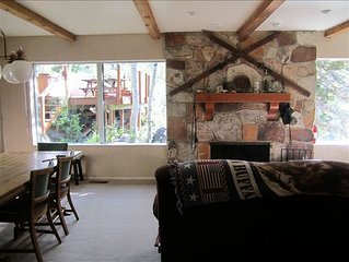 Spacious Mountain Home Less Than 1 Mile to Brighton & Solitude.WiFi and AppleTV