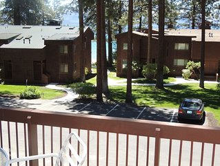 Steps to Private Beach, Minutes to Skiing, Golf, Casinos, Restaurants, Shoping
