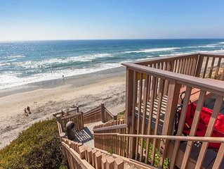 Peaceful Seaside Condo In Seabluffe, Leucadia. 1 Minute Walk To Private Beach.