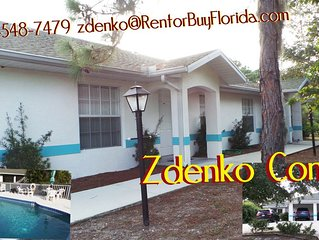 SUNNY, MODERN, LARGE  2 BEDR, 2 BTHRM  CONDO, POOL, IN SUNSET VILLAGE,