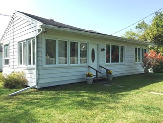 Family-Friendly Cottage on Lake Simcoe with Private Shared Beach Access